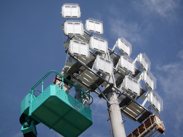LED照明 施工